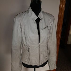 Therapy leather like jacket